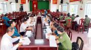 Phường 2 Tổ chức họp xét duyệt  chính trị-chính sách tuyển quân năm 2021