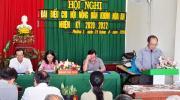 Hội Nông dân Phường 2 Tổ chức thành công  Hội nghị 02 Chi hội Nông dân trực thuộc