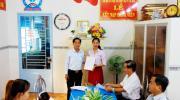 Chi bộ Hợp tác xã Vận tải Thủy bộ thành phố Sa Đéc  Kết nạp Đảng viên mới