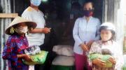 1.605 Phần quà được trao tặng tay cho người nghèo  trong dịp Rằm tháng 7 âm lịch